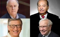 4 Business Principles from Forbes Richest Entrepreneurs in the World  #business #success #motivation