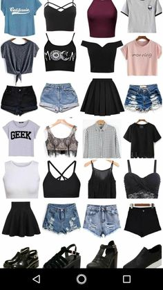 Trendy Hair Ideas Short - Ropa Tutorial and Ideas Teenage Outfits, Cute Teen Outfits, Teen Fashion Outfits, Cute Summer Outfits, Cute Fashion, Outfits For Teens, Pretty Outfits, Girl Outfits, Teenager Fashion