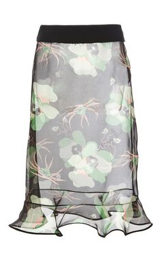 Lakota Floral Organza Skirt by MARNI for Preorder on Moda Operandi