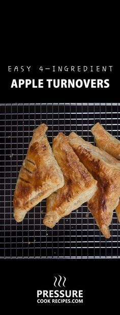 Easy Apple Turnovers