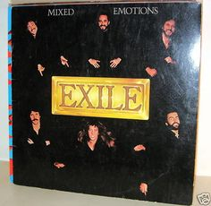EXILE -  Mixed Emotions *RAK* *Germany 78* *LP