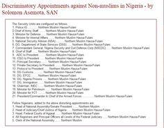Solomon Asemota Accuses Buhari Of Appointing Islamist Jihadists - Politics…