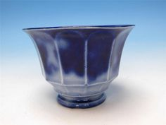 Flow Blue Ironstone - Cashmere Pattern - Handleless Cup
