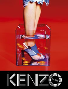 Fashion campaign mixes pop art and psychedelic eye candy. WEIRD!