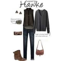 Hawke (Dragon Age 2) by ladysnip3r on Polyvore