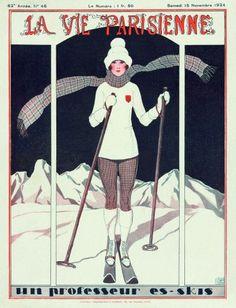 Le innamorevoli donne delle nevi....reépinglé par Maurie Daboux ❥•*`*•❥