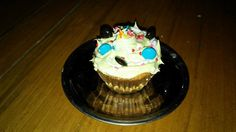Cupcake con lentejas