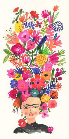 Retrato de Frida