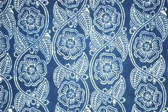Katharine Watson: hand printed, 100% cotton, natural dyed scarves, block printed