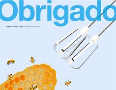 This is redesign of the edition of the Obrigado magazine with four DPS layouts.