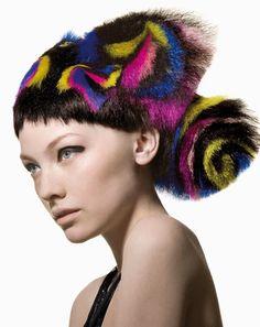 "UK Hairdresser of the Year, master stylist Angelo Seminara for Trevor Sorbie, ""Sushi Collection""  http://www.hji.co.uk/blogs/2008/06/angelo-seminara-creates-hair-s.html"