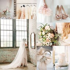 Blush Silver Wedding Colors | @Elizabeth Lockhart Lockhart Anne Designs