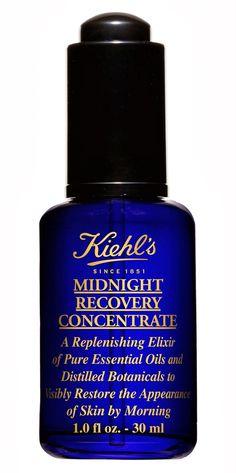 Un 10 para Midnight Recovery Concentrate y los contornos de ojos de Kiehl's   My Cosmetic Art