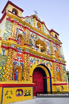 San Andres Xecul church, Guatemala