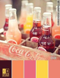 Fizzy Drink | Color Blocks Design