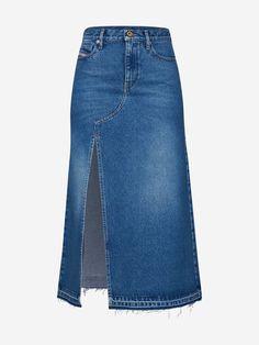 Diy Jeans, Jeans Refashion, Clothes Refashion, Denim Outfits, Chic Outfits, Gilet Jeans, Women's Straight Jeans, Jeans Trend, Diesel Jeans