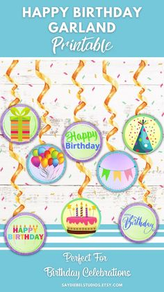 Birthday Garland, Birthday Decorations, Etsy Crafts, Love To Shop, Handmade Items, Handmade Gifts, Kids Decor, Baby Gifts, Unique Gifts