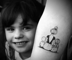 family tattoos for moms \ family tattoos ; family tattoos for men ; family tattoos for moms ; family tattoos for men symbolic ; family tattoos for men arm Mommy Tattoos, Kid Tattoos For Moms, Mom Baby Tattoo, Tattoo Mama, Mother Son Tattoos, Tattoo For Son, Baby Tattoos, Family Tattoos, Tattoos For Daughters