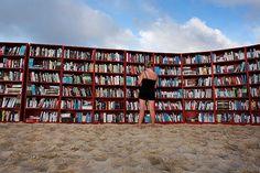 Library at Bondi beach (Sydney) - photo by ?