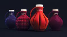 projekt butelki soku owocowego