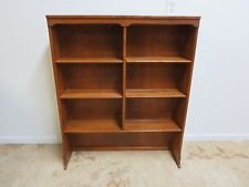 vintage Ethan Allen nutmeg bookcase tops