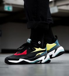 95985b43912 PUMA pays homage to late designer Alexander McQueen with the all-new PUMA  Thunder Spectra. The kicks take inspiration from his collaborative McQ Tech  Runner ...