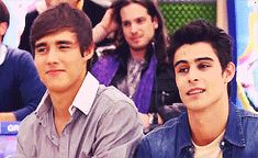#Violetta Tomas and Leon gif! They could be so good friends... but they are in love with the same girl! :/