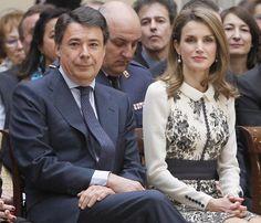 Doña Letizia pide apoyar la cultura en favor del progreso y la democracia