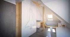 Plywood interior design - kids bedroom