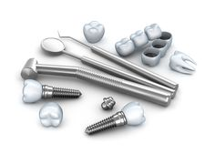 Buy Teeth, implants, and dental instruments by Alexmit on PhotoDune. Teeth, implants, and dental instruments Affordable Dental Implants, Teeth In A Day, Technology Photos, Teeth Implants, Dental Services, Titanic, Instruments, Education, Health