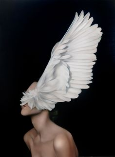 Angels or Goddesses? Avian Paintings by Amy Judd | Yatzer