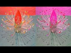 প্লাস্টিকের বোতল দিয়ে 'ফ্লাওয়ার ল্যাম্প' বানানো শিখুন- Make Super Flower Lamp With Plastic Bottles - YouTube