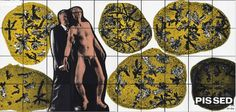 Gilbert and George Pissed auction