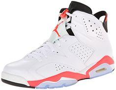 Jordan Mens 6 Retro White/midnight Navy-varsity Red Size 11.5 USD 170.00
