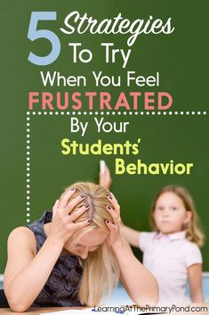 Do you have a challenging class? Here are 5 things to try when behavior is a problem in your classroom!
