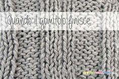 Lavori a maglia e ad uncinetto: come unire i fili quando finisce il gomitolo e se ne inizia uno nuovo