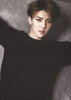 my sehun so gorgeous ....