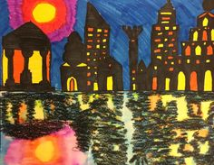 Mini Matisse: Art to Remember, City on Water