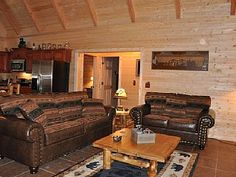 All Wood Log Cabin, tucked in woods, hot tub, wi-fi, pool & play areaVacation Rental in Branson from @homeaway! #vacation #rental #travel #homeaway