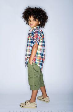 little boy curls