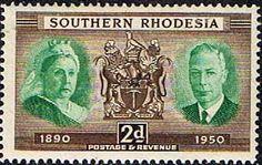 Southern Rhodesia Stamps 1950 Diamond Jubilee Fine Mint SG 70 Scott 73 Stamps fopr sale Take a Look