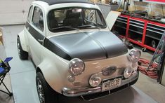 Monster Mouse: STI Powered 1957 Fiat 500 - http://barnfinds.com/56304-2/
