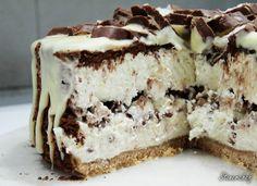 Sweet Recipes, Cake Recipes, Dessert Recipes, Homemade Pie, Homemade Cakes, Homemade Desserts, Sweets Cake, Chocolate Cream, Polish Recipes