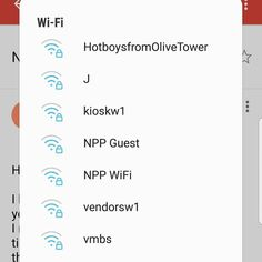 Shout Out, Wi Fi, Connection, Names