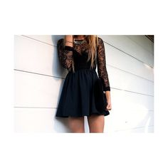 daydream found on Polyvore featuring polyvore, outfits, dresses, pictures, fashion and black