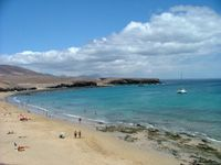 Papagayo beach,  Playacar Blanca Lanzarote,  Islas Canarias
