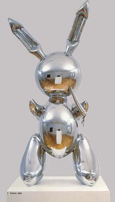 Jeff Koons' Rabbit