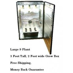 Grandma's secret garden is a 9 plant hydroponics grow box that retails at $749 plus free shipping.