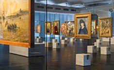 Galeria - Concreto e vidro: Os cavaletes de Lina e um novo jeito antigo de exibir arte - 3