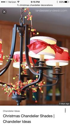 Pin by tina chesley on christmas chandelier pinterest christmas christmas chandelier chandeliers chandelier lighting chandelier aloadofball Image collections